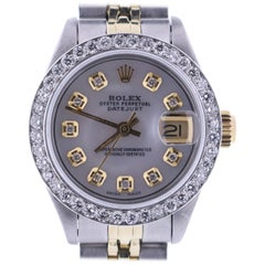 Certified Rolex Datejust 6917 Silver Dial