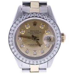 Certified Rolex Datejust 6917 Champagne Dial