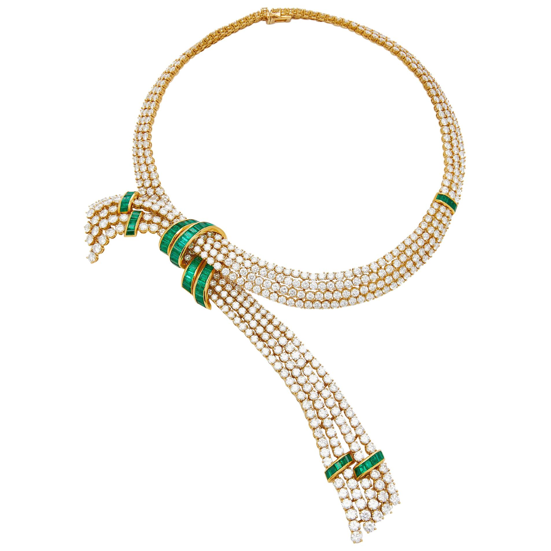 Gerard Important Emerald and Diamond Set