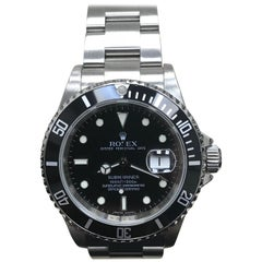 Rolex Submariner 16610 Stainless Steel Black Dial 2008 Mint