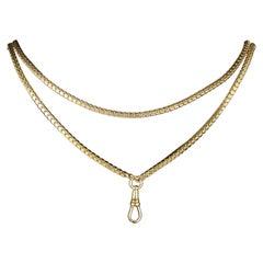 Antique Georgian Guard Chain 18 Carat Gold, circa 1800