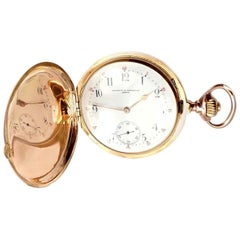 Antique Vacheron Constantin Yellow Gold Pocket Watch, 1894