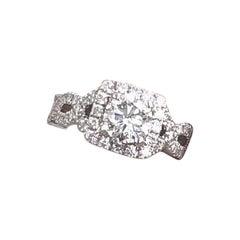 Neil Lane Diamond Engagement Ring 1.46 Carat 14 Karat White Gold