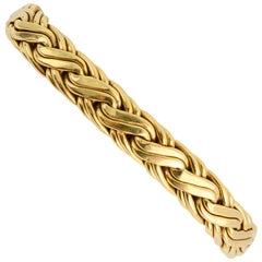 Tiffany & Co. Russian Braid Gold Bracelet