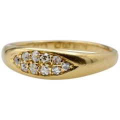 English Diamond Chester Ring, circa 1899