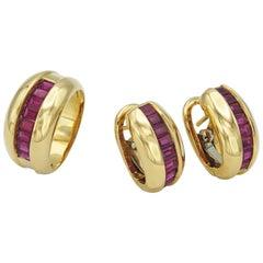 Cartier Set Rubies