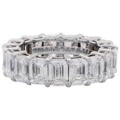 Tiffany & Co. 8.98 Carat Diamond Eternity Band