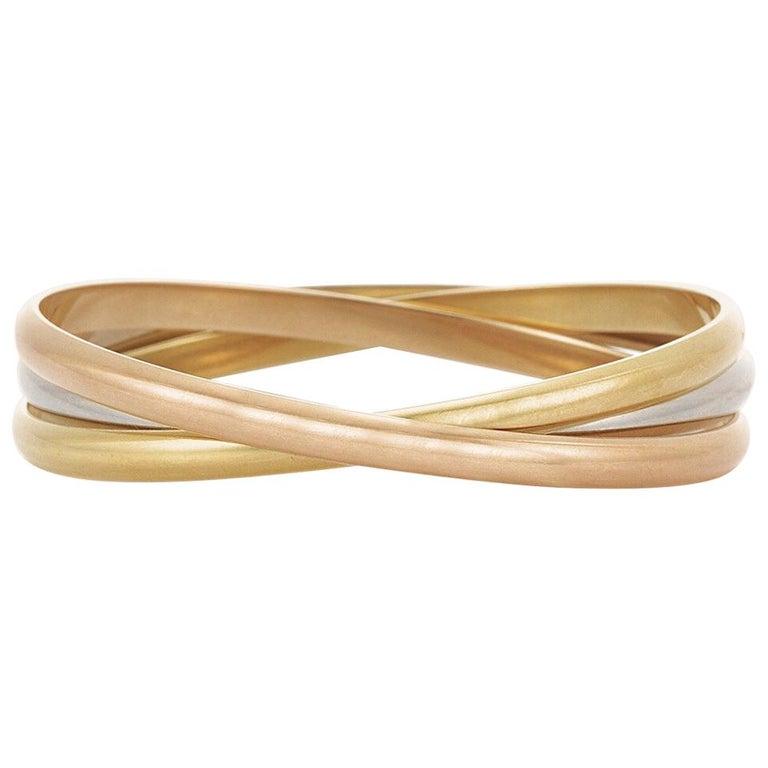 Cartier Trinity Bangle Bracelet Width Each