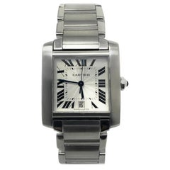 Cartier Tank Francaise W51002Q3 With Silver Dial