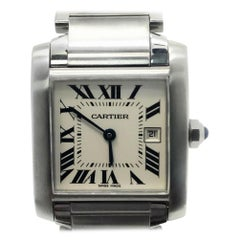 Cartier Tank Francaise W51011Q3 With Silver Dial
