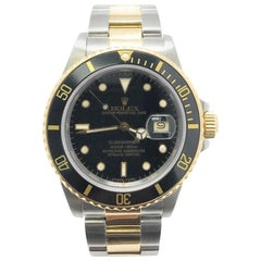Rolex Submariner 16803 With 7.7 in. Band & Black Dial