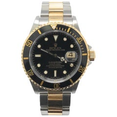 Rolex Submariner 16613 With 7.7 in. Band & Black Dial