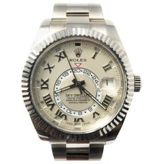 Rolex Sky-Dweller 326939 With 7.7 in. Band & Beige Dial