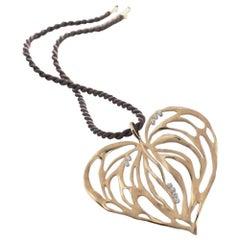 Cammilli Rose Gold Diamond Pendant Necklace