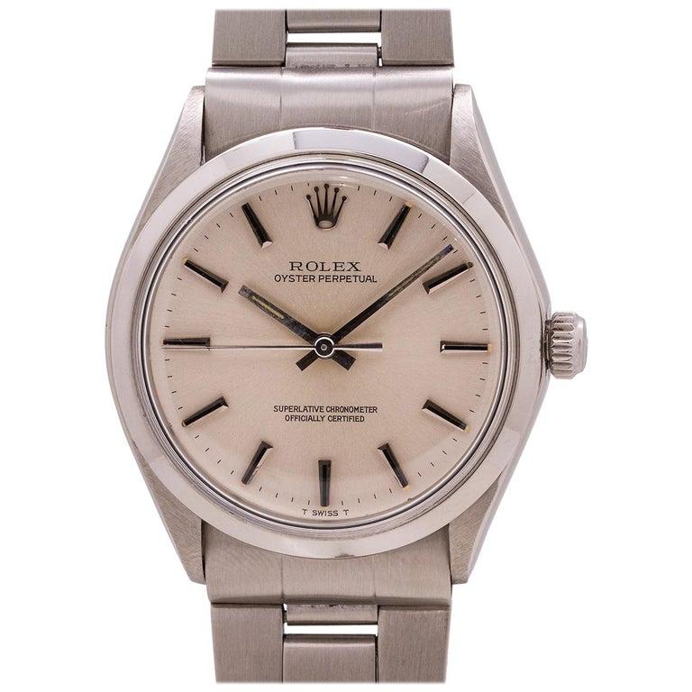 Rolex Oyster Perpetual Ref 1002 Chronometer, circa 1971