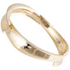 18K Tiffany & Co. Frank Gehry Gold Bracelet
