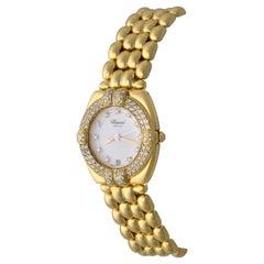 Chopard Ladies Gstaad 18 Karat Gold and Diamonds Quartz Wristwatch