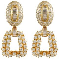Boucheron Diamond Pendant-Earclips