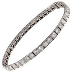 Oscar Heyman Bros, Platinum Diamond Bracelet