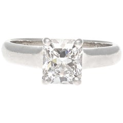 Tiffany & Co. Lucida 1.13 Carat Diamond Platinum Engagement Ring