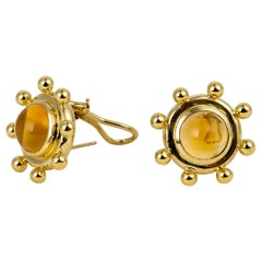 Paloma Picasso for Tiffany & Co. Citrine Gold Earrings