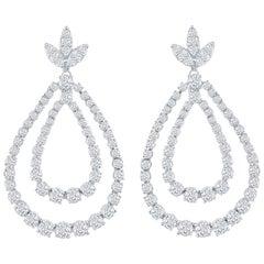 Drop Earrings 8 Carat