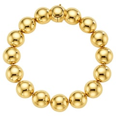 Cadar Psyche Bracelet, 18 Karat Yellow Gold, Large