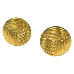 Lalaounis Yellow Gold Cufflinks