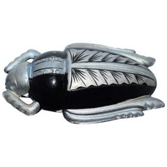 Art Deco Scarab Brooch