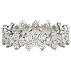 """Tiffany & Co. """"Aria"""" Diamond Eternity Ring"""