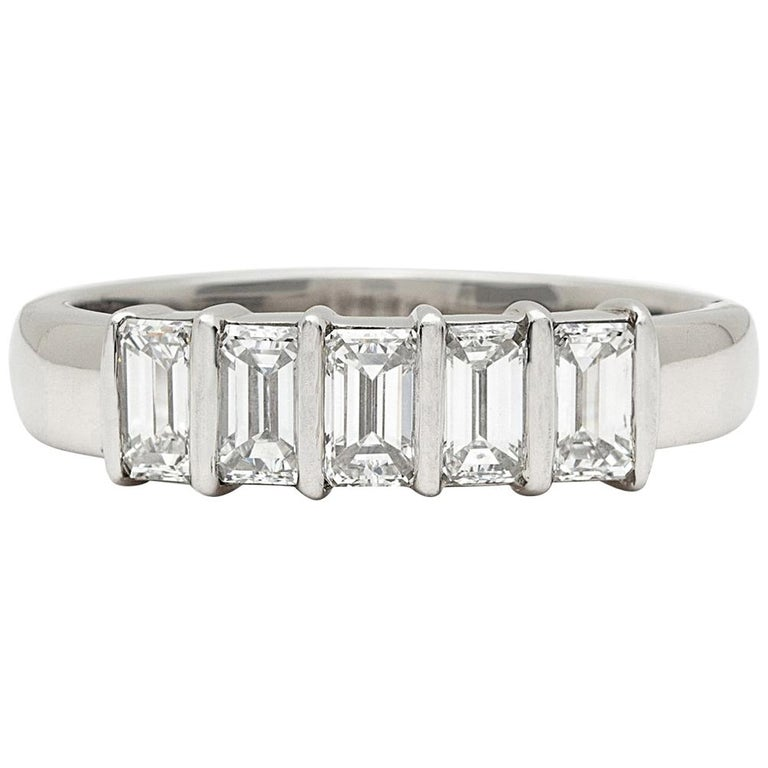 Tiffany & Co. 5-Stone Diamond Ring