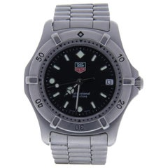 Tag Heuer Carrera 962006 With 6.2 in. Band & Black Dial