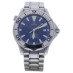Omega Seamaster 2518.80 With 7.25 in. Band & Blue Dial