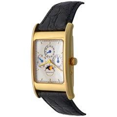Audemars Piguet Edward Piguet Yellow Gold Perpetual Calendar Wristwatch