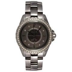 Chanel J12 Chromatic Ceramic Automatic Watch Factory Diamonds H2566