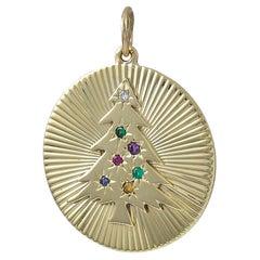 Gold Tiffany & Co. Dearest Christmas Charm