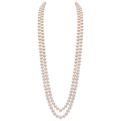 Yoko London Freshwater Pearl Rope Necklace