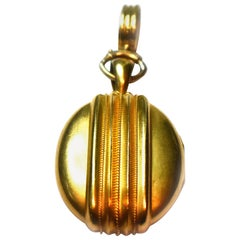 Victorian Gold Etruscan Style Locket