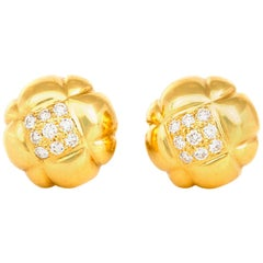 Chanel Flower Earrings
