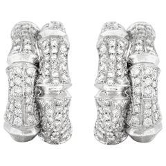 Cartier Clip-On Diamond Earrings