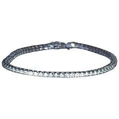1.50 Carat Diamond Tennis Bracelet in 14 Karat White Gold