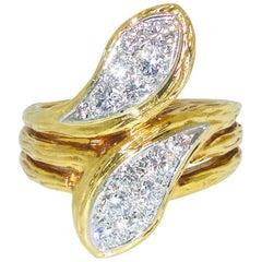 "Van Cleef & Arpels ""Moi et Toi"" Diamond Ring, circa 1968"