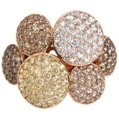 4.53 Carat Diamond 18 Karat Gold Ring
