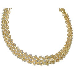 Wreath of Diamond Necklace
