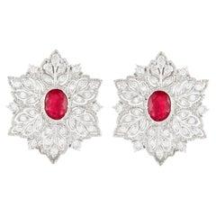 Buccellati Ruby Earrings