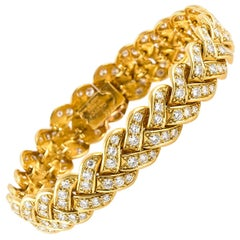 Van Cleef & Arpels Gold and Diamonds Bracelet