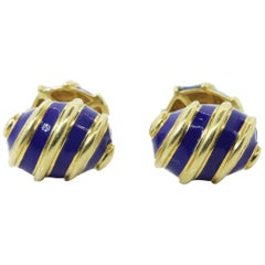 Tiffany & Co. Schlumberger Gold Cufflinks
