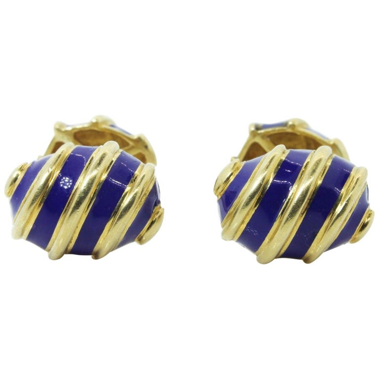 Tiffany & Co. Schlumberger Gold Cufflinks