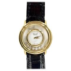 Chopard Happy Diamonds 18 Karat Gold Quartz Watch