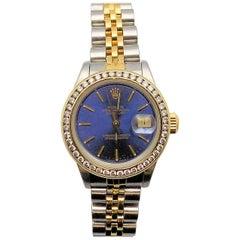 Rolex Stainless and 18 Karat Yellow Gold Jubilee Wristwatch
